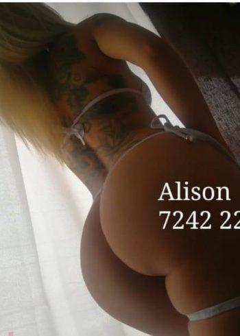 Escort Alison tel:72422286 en San José CR